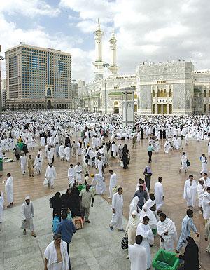 Zentrum von Mekka