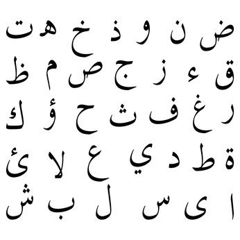 arabische Alphabet