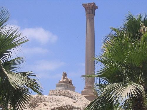 Pompeiussäule in Alexandria