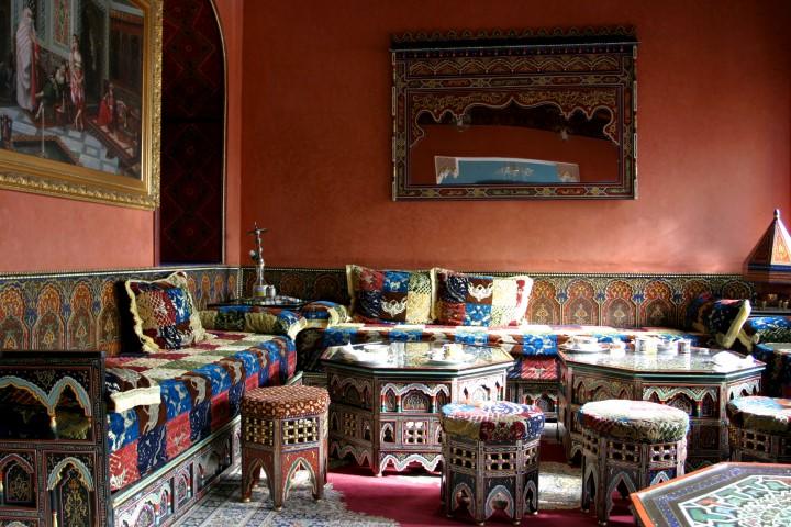 Typischer Salon in Sfax
