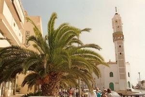 Minarett im tunesischen Gabes