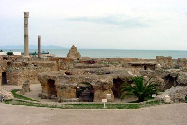 Ruinen von Karthago in Tunesien