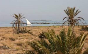 Kerkenna-Inseln vor der Küste Tunesiens